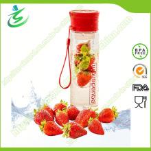 Bouteille d'eau infusible de 24 oz; Bouteille d'infuseur de fruits avec étiquette (IB-N1)