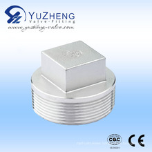 Industrial Stainless Steel Thread Square Plug