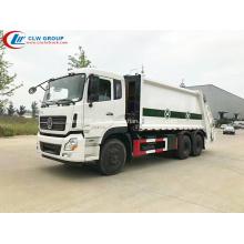 Tipo de lujo Dongfeng 270hp 18cbm rechazar reciclaje de camiones