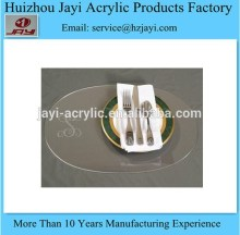 JYPM-008China supplier wholesale acrylic christmas table mat/clear plastic table mat