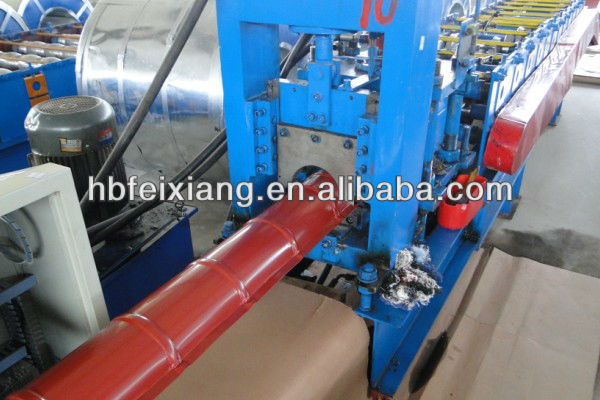 Ridge Tile Color Steel Roll Forming Machine