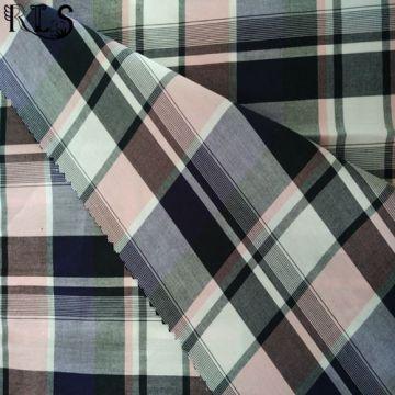 100 % Baumwolle Popelin gewebt Garn gefärbtes Gewebe für Hemden/Kleid Rls50-28po