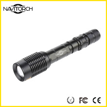 2*18650 Battery T6 Zoomable Durable Rechargeable Flashlight (NK-366)