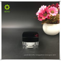 best selling luxury clear empty plastic jar cosmetic packaging