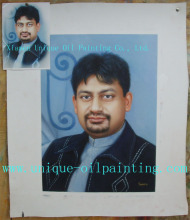 oil painting, portrait oil painting, oil painting from photo