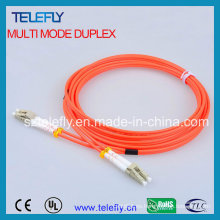 Cable de conexión de fibra óptica multimodo LC, cable de conexión de fibra óptica