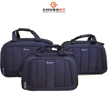 Chubont Hot Sell Nylon Material Cheap Trolley Bags 3PCS Set