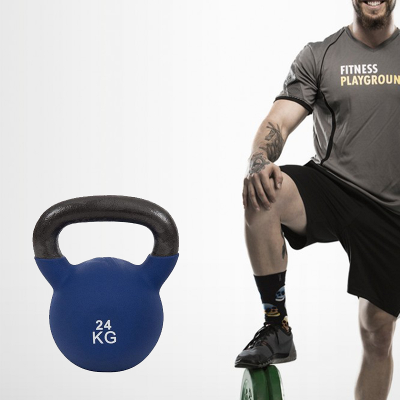 Cast Iron Powder Coated Kettlebell