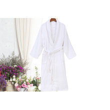 White Cotton Hotel Robes Toweling Peignoir