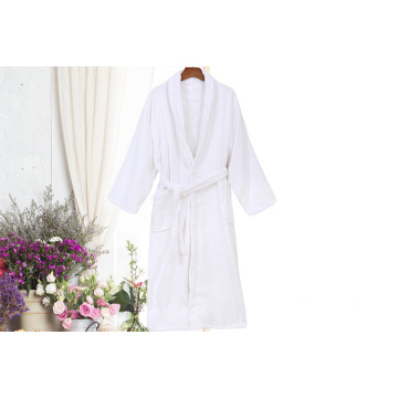 White Cotton Hotel Robes Toweling Jubah mandi