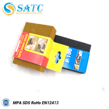 SATC - fabricant professionnel d'éponge de bloc de ponçage avec la réputation élevée