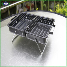 Suitcase Style Camping Mini BBQ Grill
