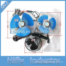 HF-808 DC 12V/24V car fans with CE certificate cigarette plug automobile fan