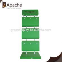 High Quality express pos cardboard display stand with hooks