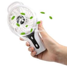 Aquecedor de ventilador pequeno Uso de energia Dispositivo de mão da lareira