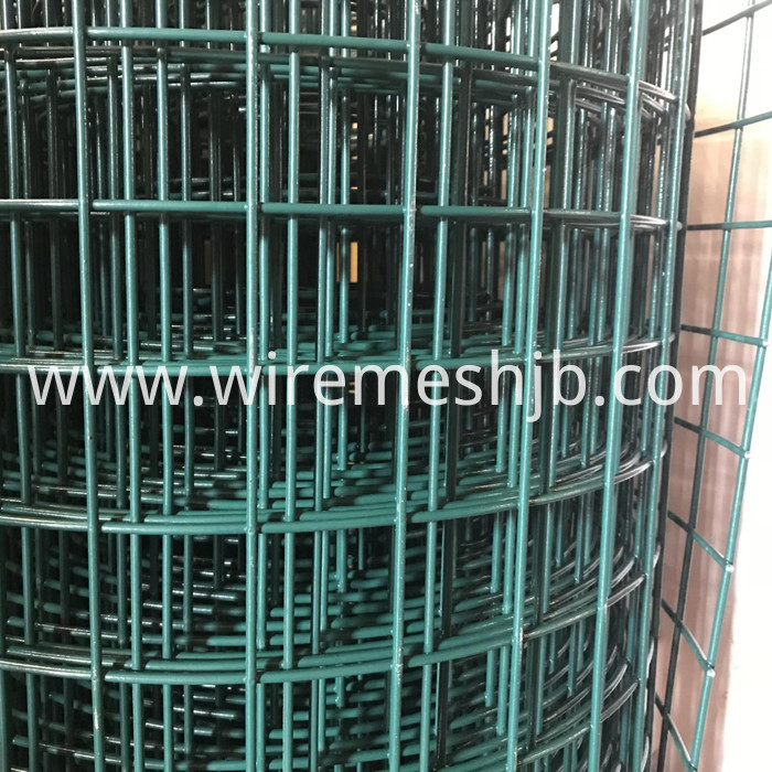 Vinyl Coated Welded Wire Fencing