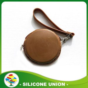 Populaire goedkope Macaron vorm Silicone Coin Purse