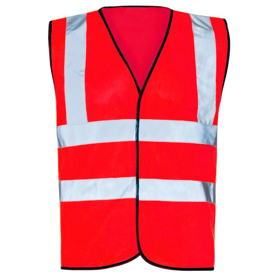 Hi Vis Red Vest