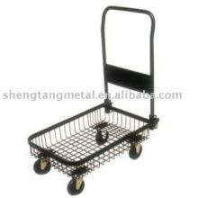 Chariot à main plate-forme de panier de maille PH1554