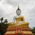 Very large nepal handmade outdor sitting meditating buddha statue