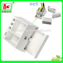 Wholesale office desktop multifunctional acrylic stationery rack