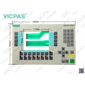 Teclado de membrana 6AV3627-7JK00-0AX0 OP27 / teclado de membrana 6AV3627-7JK00-0AX0