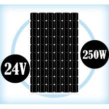 Монокристаллический модуль солнечной панели 24В 250 Вт