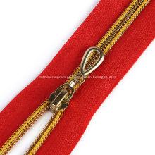 Sacos de nylon Zip Carteiras Fixadores de parede Zipper