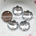 16 mm Acrylic Clear Faceted Octagon Bead Mirror Effect