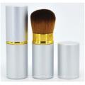 Cepillo rojo de la mejilla de la manija de madera sólida, cepillo del maquillaje del maquillaje de la belleza del cepillo del colorete