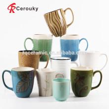 Tazas de cerámica al por mayor gres porcelana mug