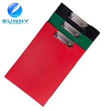 2015 alta calidad A4 doble cara PVC plegable portapapeles