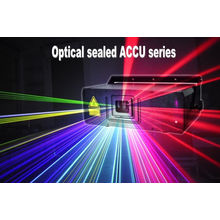 Accu Dj Laser Lighting With Air Cooling Systems , 500mw Rgb Laser