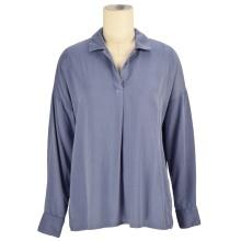 Горячие продажи свободные женские топы последние летние офисные рубашки модные женские блузки с длинными рукавами дизайн женские