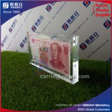 Löschen Acryl China 100 Banknotenhalter