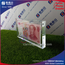 Clear Acrylic China 100 Держатель банкнот
