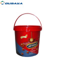 tamper evident 100% recyclable christmas candy container