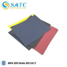 papier abrasif abrasif au carbure de silicium / papier abrasif noir