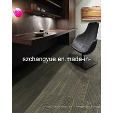 Carreaux de tapis modulaires en nylon avec support en PVC