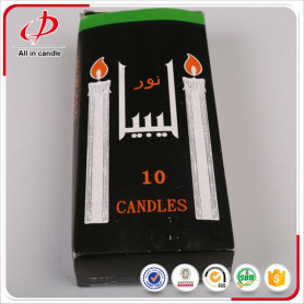 Popular Home Use White Stick Paper Box Packing Candle