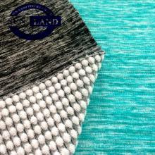 Tissu en tissu éponge Creora spandex Creora en polyester tricoté dans un mélange de couleurs sur mesure