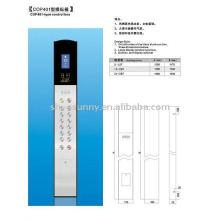 panel de operación del elevador coche