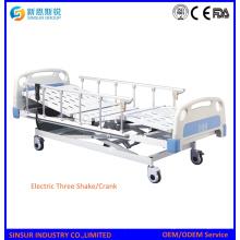 Krankenhaus Ward Verwenden Sie drei Kurbel Patient Medical Bed