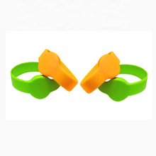 Factory Cheap Custom Irregular Silicone Wristband For Promotion Gift