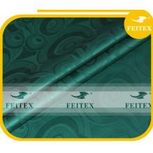 Feitex Высокое Качество Африканский Базен Riche Оптовая Хлопка Одежды Текстиля Зеленых Одеждах В Ткани Китай