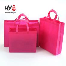 Promocional não tecido saco de compras atacado