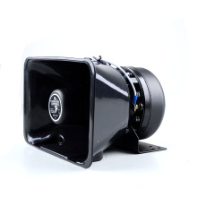 Certificación CE Calidad 12 V 24 V 100 W Audio Super Sonido Vehículo Camión Altavoz Bocina Con Sirena Para Policía Usado