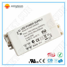 20W 24V led driver, led power supply 830mA led driver transformer