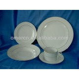 fine 20 pcs porcelain dinner set