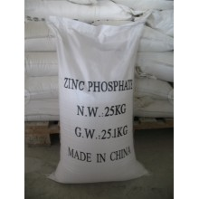 0-level zinc phosphate for paste paint